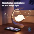 Gift Set: 2-in-1 Sweet Bird Night Light & Bluetooth Speaker (with Gift Box)
