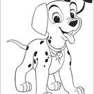 Kids-n-Fun | Kleurplaat 101 Dalmatiers 101 Dalmatiers
