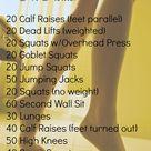 Great Leg Workouts