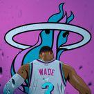 D Wade Miami Heat Wallpaper