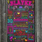 Chalkboard Baby