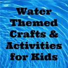 Water Themed Crafts