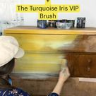 DIY Paint  +  The Turquoise Iris VIP Brush