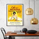 Cat On A Hot Tin Roof Poster Movie Promotion Print