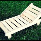 How to Make a Popsicle Stick BEACH CHAIR   Crafts with Popsicle Sticks   5 MINUTE CRAFTS VIDEOS