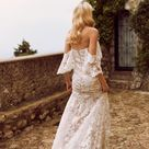 The charming HALLE gown by Madi Lane Bridal // Style Number: ML8319