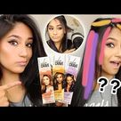 Does CLAIROL Color Crave HAIR MAKEUP Work On Dark Hair?? (FULL DEMO, RESULTS, REVIEW...)