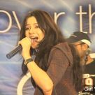 Rabi peerzada performance and singing on stage