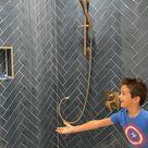 Bathroom Fixtures! Follow me ! #urbanoaksdesignco #champagnebronze #matteblack #sponsored
