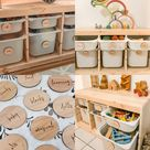 Personalised Wooden Toy Labels  Ikea Trofast wooden labels    Etsy