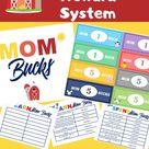 How Kids Can Earn Printable Mom Bucks