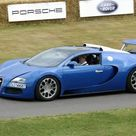 Framed Photo. Bugatti Veyron Grand Sport