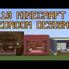 10 Minecraft Bedroom Designs!