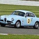 CM9 6011 Louis Frankel, Alfa Romeo Giulietta Sprint. 400 Piece Puzzle. Louis Frankel, Alfa Romeo Giulietta Sprint, XSV 876, Allcomers Handicap, Bentl.