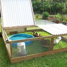 Anyone have pictures of their duck shelters?