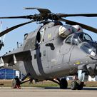 Mil Mi-35M improved and modernised export version of the original Russian Mil Mi-24