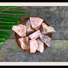RAW RED AVENTURINE Gemstone 3 Piece Set Healing Raw Red Aventurine Crystal Kit Intention Stone Set Lithiotherapy Healing Raw Red Aventurine