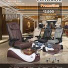 Whale Spa Pedicure Chair VICTORIA II