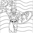 Captain America Ausmalbilde 18