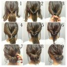 easy hairstyles for medium hair quick step by step