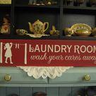 Farmhouse Laundry Rooms