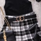 4 Trendy Ways To Style Plaid Mini Skirts