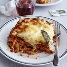 Klassische Bolognese Lasagne