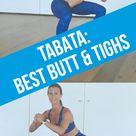 4 Minuten: Tabata-Workout für Po & Oberschenkel