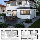 Fertighaus ELK Haus 130 mit Erker - ELK Fertighaus | HausbauDirekt.de