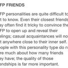 INFP (Myers-Briggs/Keirsey/Jungian)