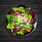 Go healthy with simple beetroot salad