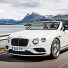 2016 Bentley Continental GT V8 S Convertible