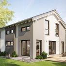 Modernes Haus SUNSHINE 136 V4 mit Klinker - | HausbauDirekt.de