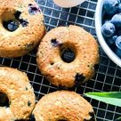 Healthy Baked Blueberry Donuts! Weight Watcher friendly - Recipe Diaries