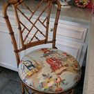 Budget Friendly Chinoiserie Stools