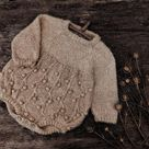 Knitting romper pattern
