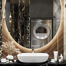 Stunning design that will leave your bathroom a super luxurious place