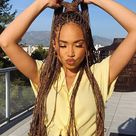 20 Coolest Knotless Box Braids for Carefree Ladies