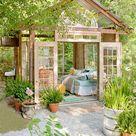 Gartenhaus Inspiration   23 originelle Ideen für Ihre Ruhe Oase im Garten