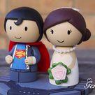 Superman Cake Topper