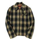 Mustard Plaid Sports Jacket - M 38