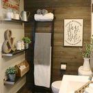 Farmhouse Bathroom IKEA Style - Design Dazzle