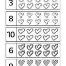 Free Valentine's Day Worksheets | 123 Kids Fun Apps