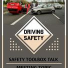 Safety Toolbox Talk Meeting Topic Driving Safety