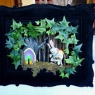Alice in Wonderland Horror Diorama