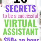 How to become a Virtual Assistant for FREE (Make $30+ an hour, easily!)