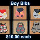 Baby Boy Bibs