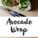 Avocado-Wrap mit Salsa Rezept   WW Deutschland