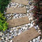 Weg im Garten - 18 tolle Ideen aus verschiedenen Materialien