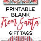 Santa Gift Tags EDITABLE From Santa Gift Tags PRINTABLE | Etsy